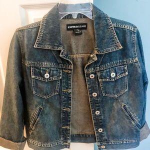 Express jean jacket like new